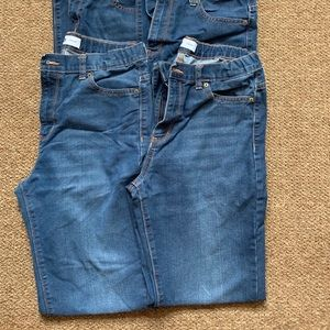Two pair Old Navy Boy's Jeans 16 Husky